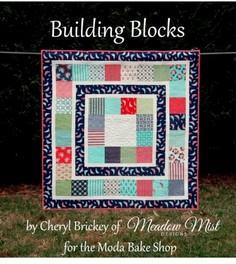 Building Blocks Baby Quilt