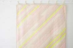 Diagonal Stripe Quilt