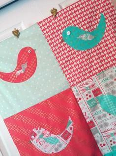 Easy Appliqué Birds of a Feather Q
