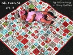 All Framed Up Baby Quilt