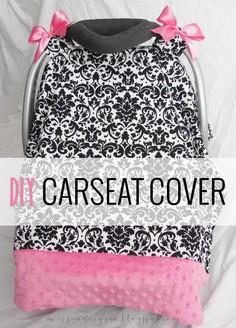 DIY: carseat cover tutorial