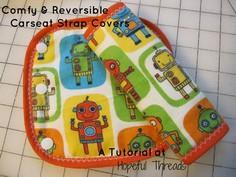 Comfy & Reversible Carseat