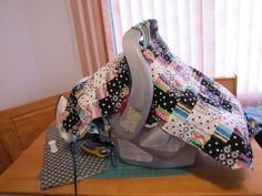 Make a Quilted Car Seat Cover (car