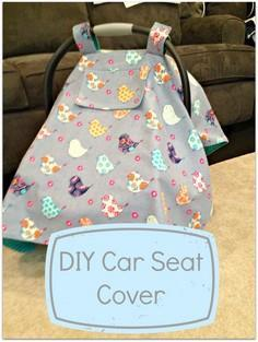 DIY Car Seat Cover Tutorial