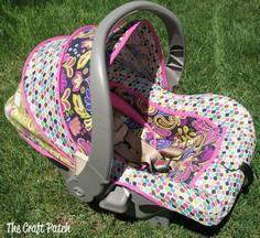 The Craft Patch: Custom Car Seat