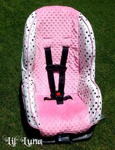 Learn how to make a car seat cover
