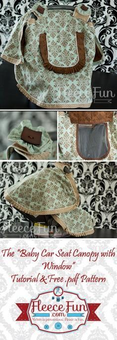 Free Baby Car Seat Canopy Pattern