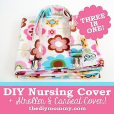 Sew a 3-in-1 Nursing Cover, Carseat
