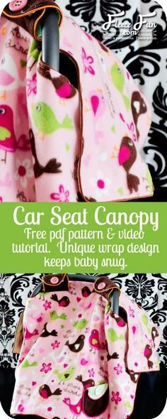 100 Baby Car Seat Cover Patterns