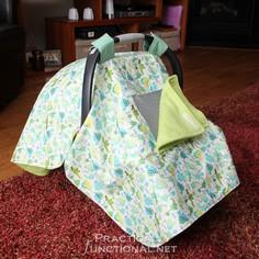 Waterproof Car Seat Canopy!