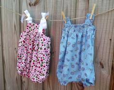 Quick and Easy Baby Rompers