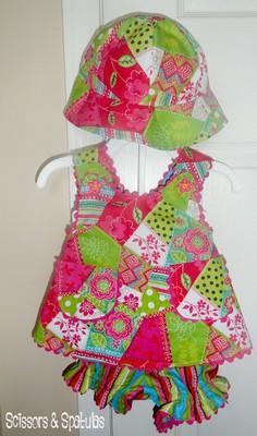 How to Sew Baby Romper
