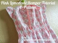 FREE Pink Lemonade Romper Tutorial