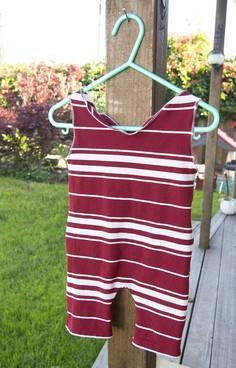 DIY Sunsuit from a T-shirt Tutoria