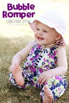 Bubble Romper for Baby: Long Pant