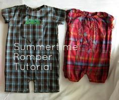 Summertime Romper Tutorial
