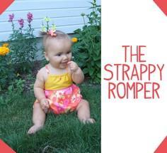 Strappy Romper Free Sewing Tutoria