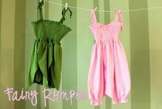 Fairy Romper: Tutorial