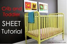TUTORIAL: Crib and Toddler Bed