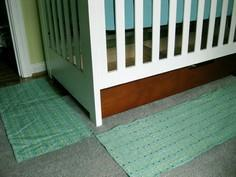 How To Make A No Sew Crib Skirt