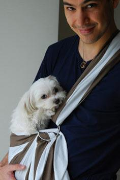 crafts:: doggie or baby sling tutorial