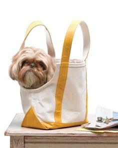 Make A Dog Sling Or Tote Carrier