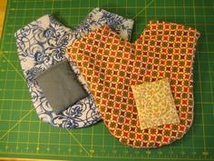 Lovers' Mitten with Reusable Pocke