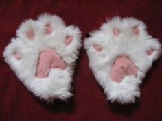 How to Make Cute Kitty Paw Mittens