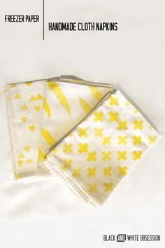 Handmade Cloth Napkins