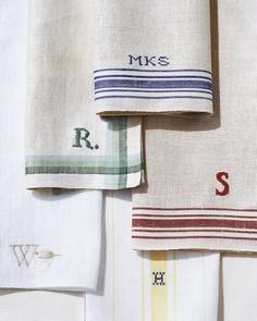 Tea-Towel Napkins Tutorial
