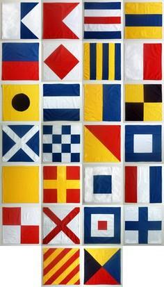 Nautical Flag Napkins