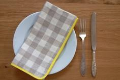 DIY Tutorial DIY: Checkered Napkin