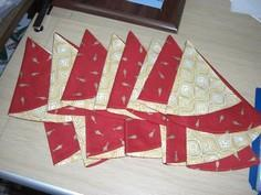 Tutorial for Christmas Napkins