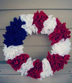 Happy Almost 4th of July! (DIY Independence Day Wreath)