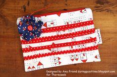 Patriotic Bunting Bag by Amy Friend