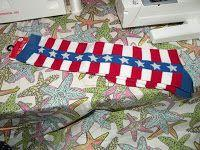 Tutorial: Crafting our 4th of July (Re-purposing clothing)