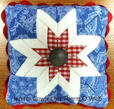 HeatnBond Mini Patriotic Pillow