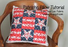 Patriotic Pillow Tutorial