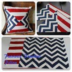 Patriotic Pinwheel Pillow Tutorial
