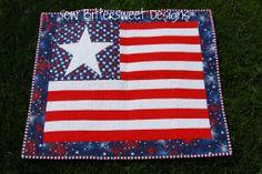 Fourth of July Wall Hanging Tutorial