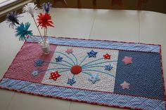 Fireworks in the Kitchen- Table Runner