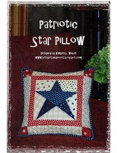 Patriotic Star Pillow