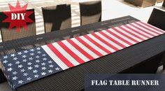 Make // Flag Table Runner