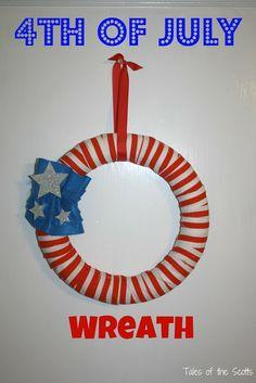 DIY: 4th of July Wreath