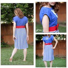 DIY Patriotic Sundress