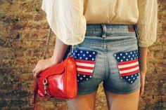 4TH OF JULY DIY: STARS AND STRIPES SHORTS