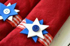 FESTIVE CRAFT FOR YOUR 4TH OF JULY TABLE!