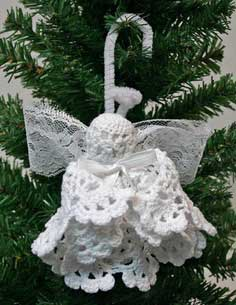 Easy Angel Crafts: Doily Angel