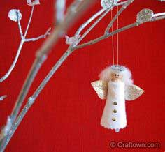 Christmas Clothespin Angels