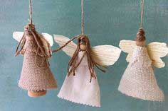 Sweet Tidings 6th Day of Christmas: Earth Angel Ornaments